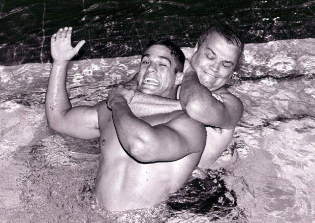 Carlson Gracie e Vitor Belfort