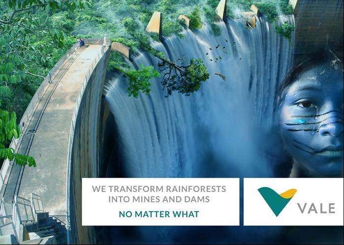 """""""Nós transformamos florestas em minas, não importa como"""""""